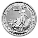 2017 Great Britain 1 oz Silver Britannia BU