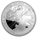 2017 Great Britain 20 oz Silver Britannia (20th Anniv)