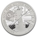2017 Great Britain 5 oz Proof Silver Britannia