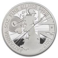 2017 Great Britain 5 oz Proof Silver Britannia