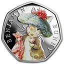 2017 Great Britain Silver 50p Beatrix Potter Prf (Benjamin Bunny)