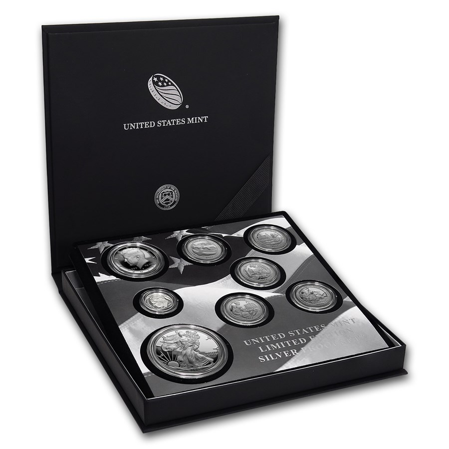 2017 Limited Edition Silver Proof Set