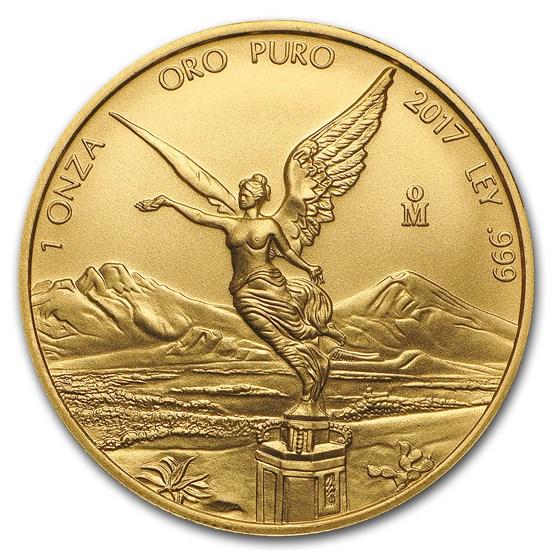 2017 Mexico 1 oz Gold Libertad BU