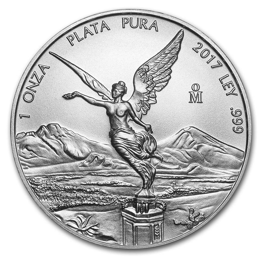 2017 Mexico 1 oz Silver Libertad BU