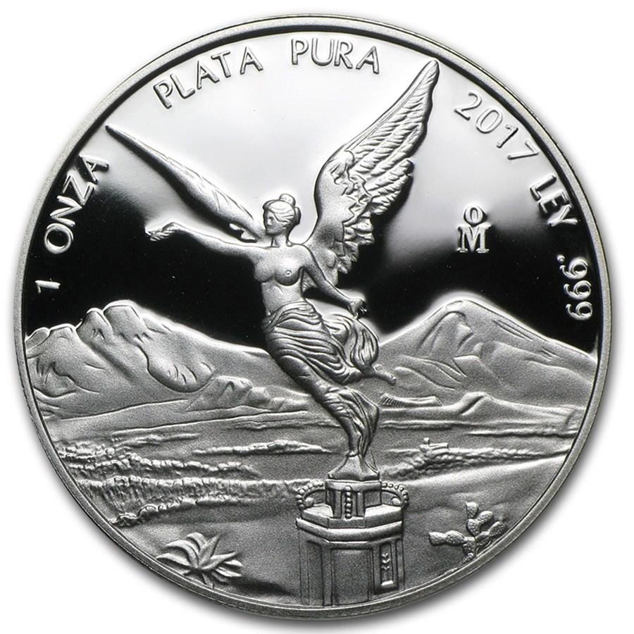 2017 Mexico 1 oz Silver Libertad Proof (In Capsule)