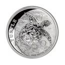 2017 Niue 1/2 oz Silver $1 Hawksbill Turtle BU