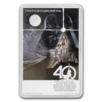 2017 Niue 1 oz Silver $2 Star Wars 40th Anniversary (w/Box & COA)