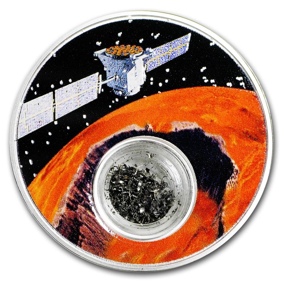 2017 Niue 1 oz Silver Moon Landing Anniversary: Mission to Mars