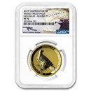 2017-P 1 oz Gold Proof Wedge Tailed Eagle Reverse Proof PF-70 NGC