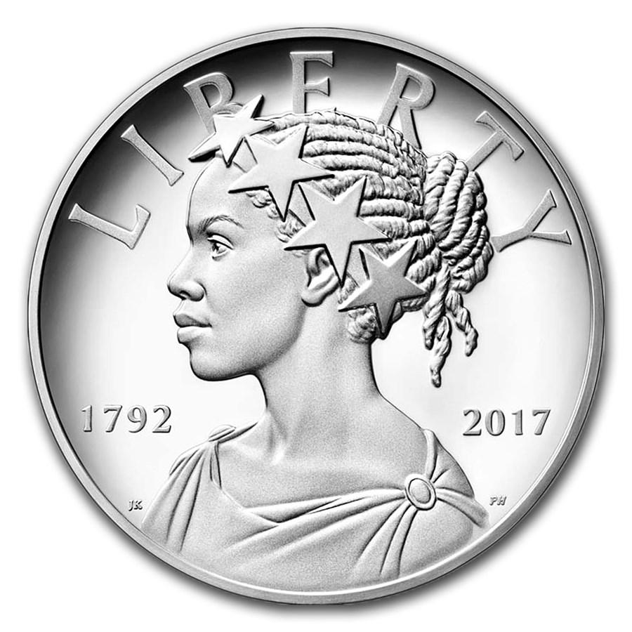 2017-P Silver American Liberty Medal Proof (w/Box & COA)
