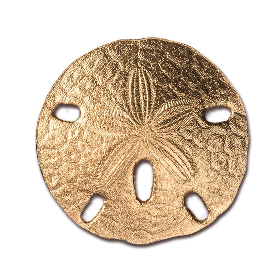 2017 Palau 1 gram Gold $1 Sand Dollar