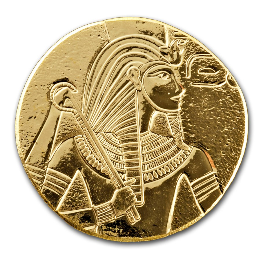 2017 Republic of Chad 1 oz Gold King Tut