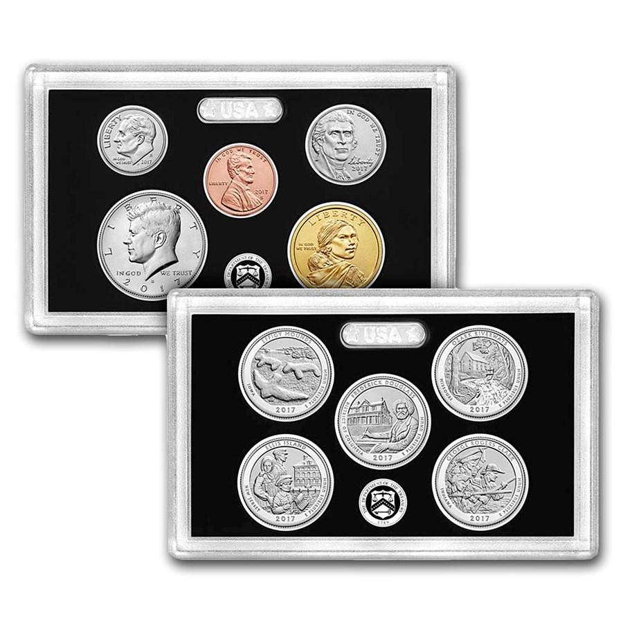 2017-S U.S. Mint 225th Anniversary Enhanced Uncirculated Coin Set