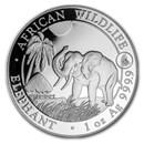 2017 Somalia 1 oz Silver Elephant BU (Rooster Privy)