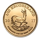 2017 South Africa 1/10 oz Gold Krugerrand