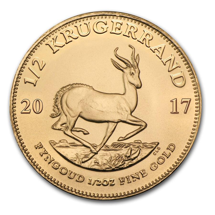 2017 South Africa 1/2 oz Gold Krugerrand