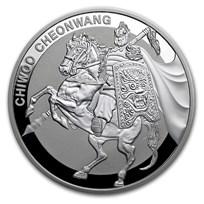 2017 South Korea 1 oz Silver 1 Clay Chiwoo Cheonwang Proof