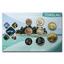 2017 Tokelau 8-Coin Set 1 Cent - 2 Dollars BU (Individual pkg)