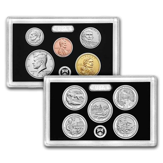 2017 U.S. Mint 225th Anniversary Enhanced Uncirculated Coin Set