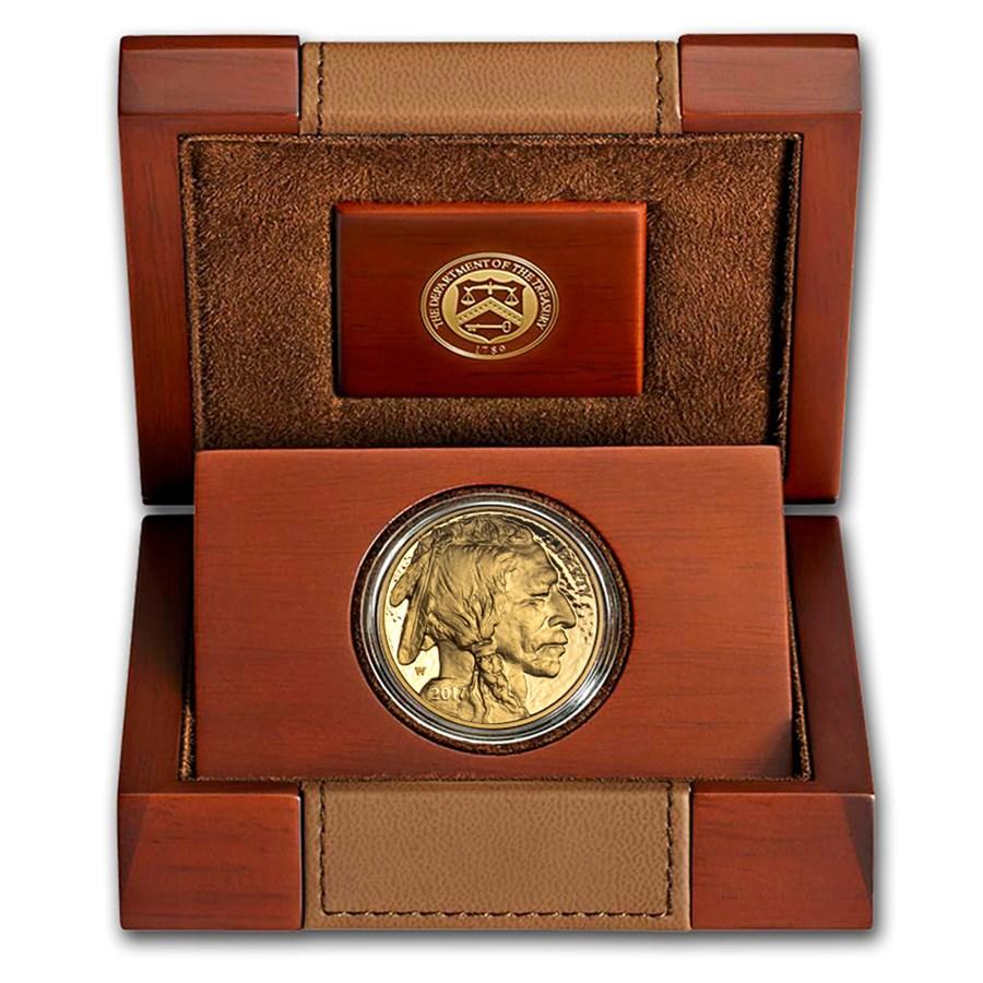 2017-W 1 oz Proof Gold Buffalo (w/Box & COA)