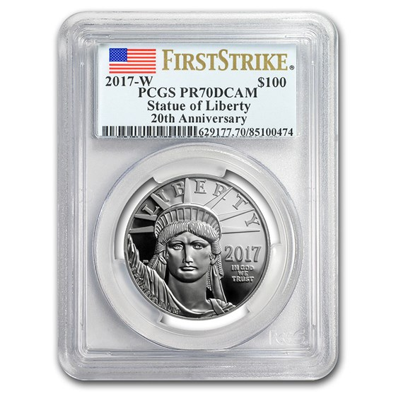 2017-W 1 oz Proof Platinum Eagle PR-70 PCGS (FS)