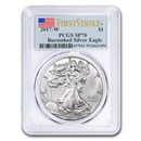 2017-W Burnished American Silver Eagle SP-70 PCGS (FirstStrike®)