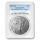 2017-W Burnished American Silver Eagle SP-70 PCGS