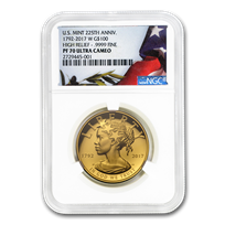 2017-W High Relief American Liberty Gold PF-70 NGC