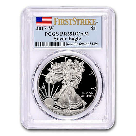 2017-W Proof American Silver Eagle PR-69 PCGS (FirstStrike®)