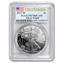 2017-W Proof Silver American Eagle PR-70 PCGS (FirstStrike®)