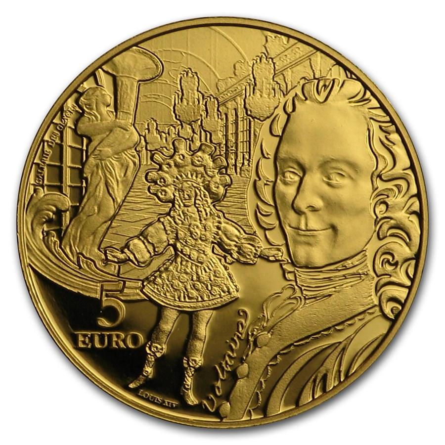 2018 1/2 gram Gold Europa Star (Baroque & Rococo)