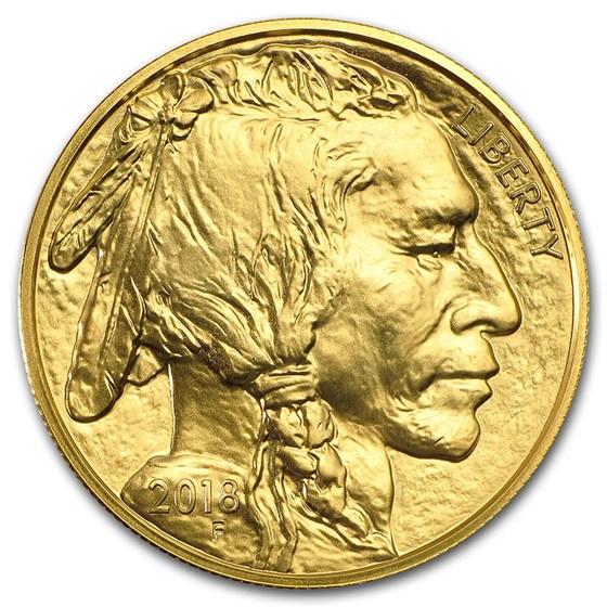 2018 1 oz Gold Buffalo BU