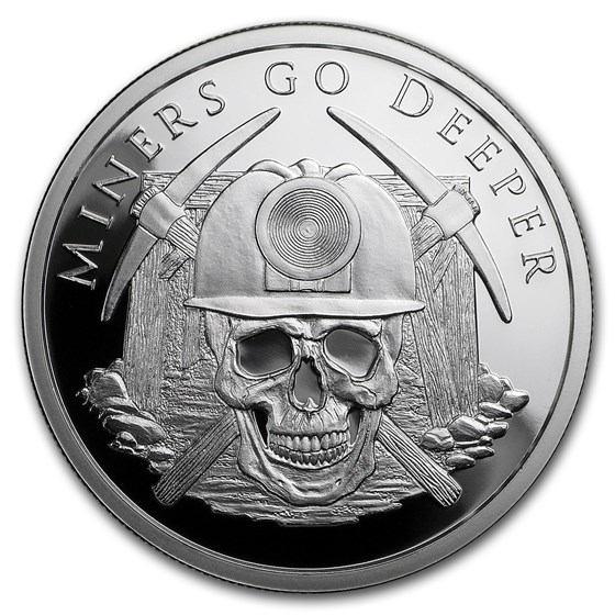 2018 1 oz Silver Shield Proof Round - MiniMintage Dig Deeper