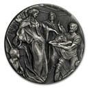 2018 2 oz Silver Coin - Biblical Series (John the Baptist)
