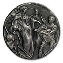 2018 2 oz Silver Coin - Biblical Series (John the Baptist)