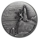 2018 2 oz Silver Coin - Biblical Series (Temptation of Jesus)