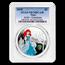 2018-2019 Niue 4-Coin Silver $2 Princess PR-70 PCGS (COA #2)