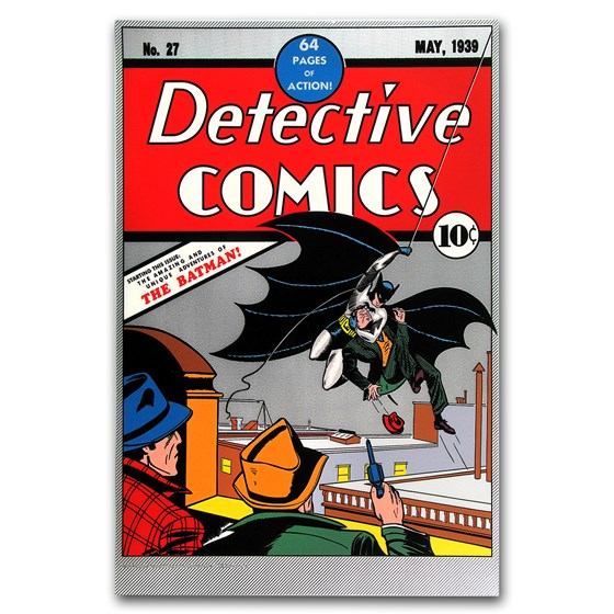 2018 35 gram Silver DC Comics Detective Comics #27 Foil