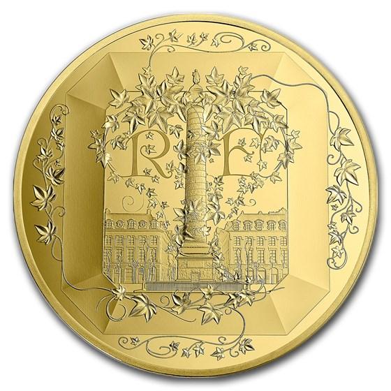 2018 5 oz Proof Gold €500 Excellence Series (Boucheron)