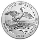 2018 5 oz Silver ATB Cumberland Island National Seashore, GA