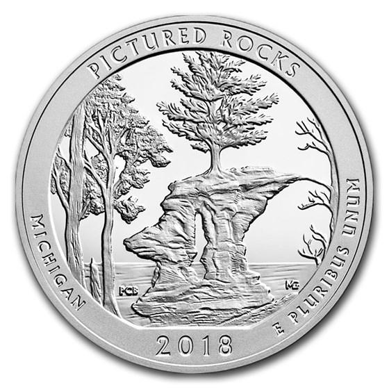 2018 5 oz Silver ATB Pictured Rocks National Lakeshore, MI