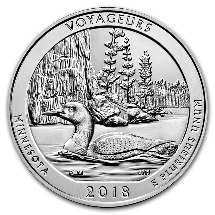 2018 5 oz Silver ATB Voyageurs National Park, MN