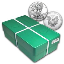 2018 500-Coin American Silver Eagle Monster Box (Sealed)