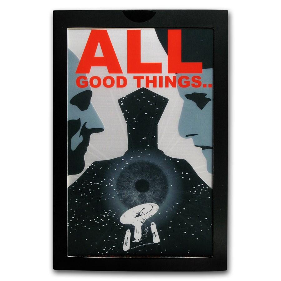 2018 5g Silver $1 Star Trek: Next Generation All Good Things