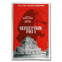 2018 5g Silver $1 Star Trek: Next Generation Redemption Foil Note