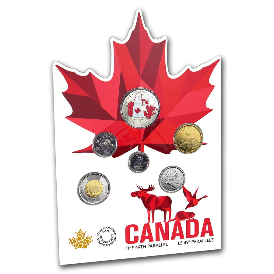 2018 6-Coin Canada From Far and Wide Circulation Set