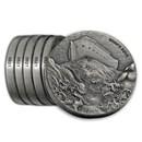 2018 6-Coin Silver Set - Biblical Series (Matching Serial #'s)