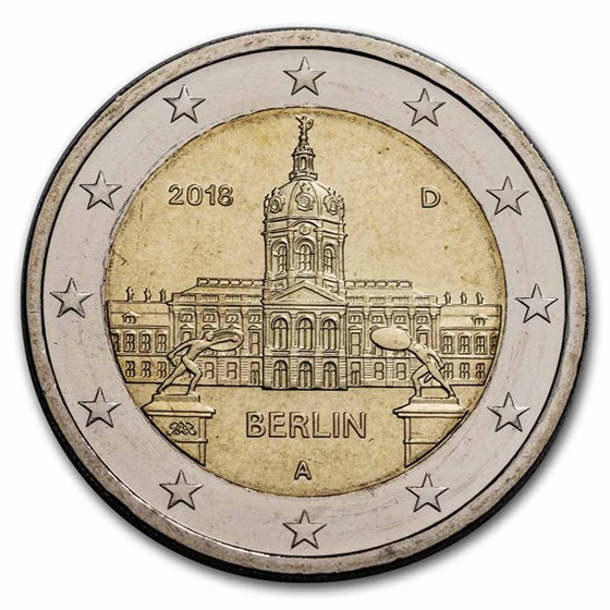 2018-A Germany 2 Euro Berlin BU