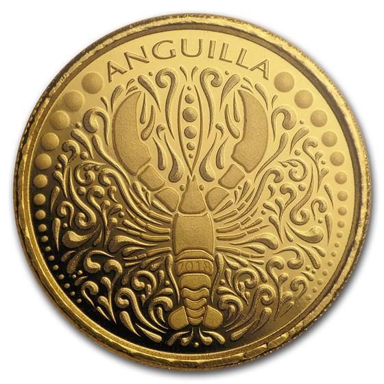 2018 Anguilla 1 oz Gold Lobster BU