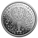 2018 Anguilla 1 oz Silver Lobster BU